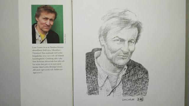 Sketch of Lars Lerin
