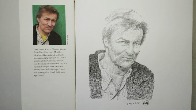 Sketch of Lars Lerin