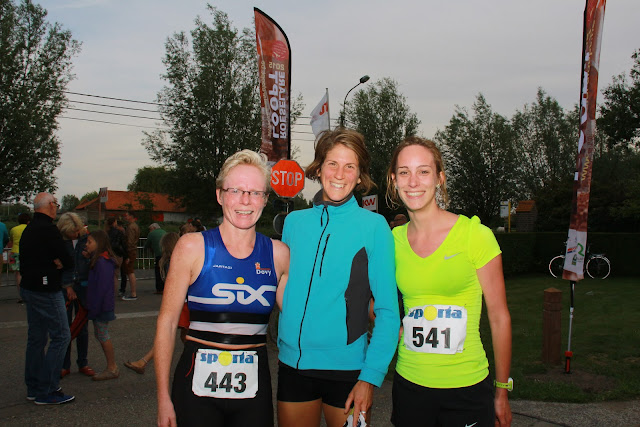 Podium dames 31e Dwars door de Zilten