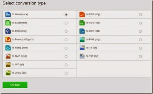 cara konversi dokumen pdf ke doc dan format lain