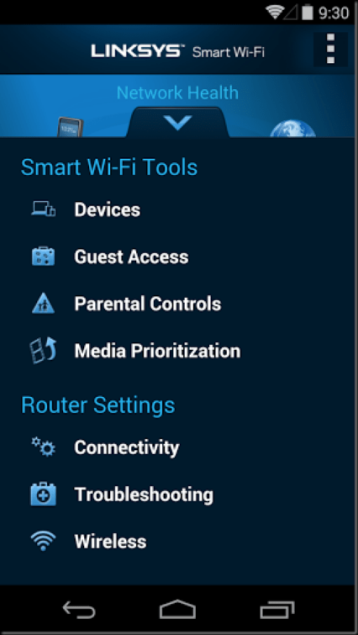 linksys parental control
