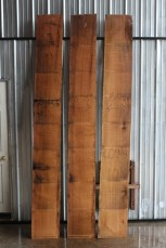 "609 W Oak Quarter Sawn Boards - 4 40 Pcs.  14.75"" Wide x 10' Long"