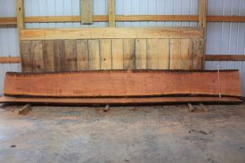 Cherry 330-8  Length 20', Max Width (inches) 27 Min Width (inches) 20 Thickness 10/4  Notes : Kiln Dried