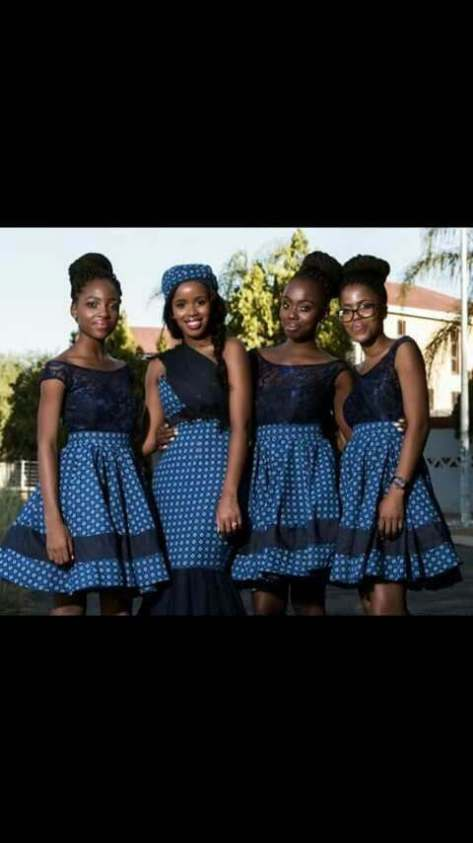 Traditional Tswana Wedding Dresses 2017 Styles 7