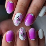 EASY PINK NAIL ART DESIGNS FOR WOMEN