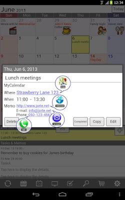 *完整自訂外觀的行事曆:Jorte (備忘記事本) (Android App) 6