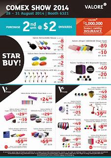 Valore COMEX 2014 Flyer - Page 1