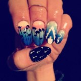 fashionable and pretty summer nail art 2016
