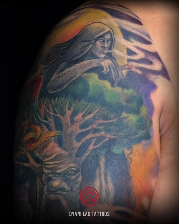 8 CREATURES SLEEVE - Dyani Lao Tattoos and Art