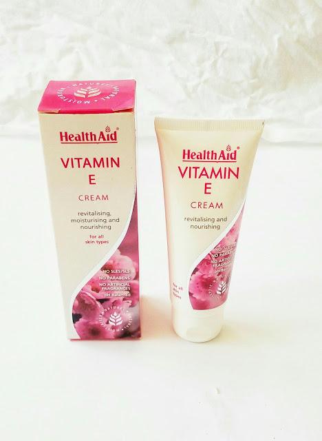 healthAid vitamin E cream