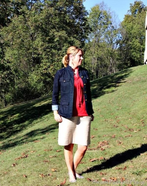 denim-jacket-red-top-linen-skirt1