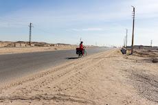 Cycling towards Beni Suef