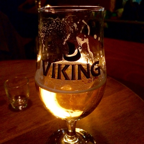 Viking beer on Iceland food and drink