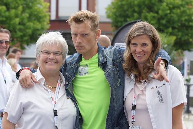 Gisele Debever, Gorik Gardeyn en Jessica Vandromme