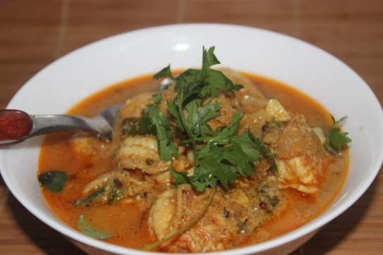 Prawn curry2