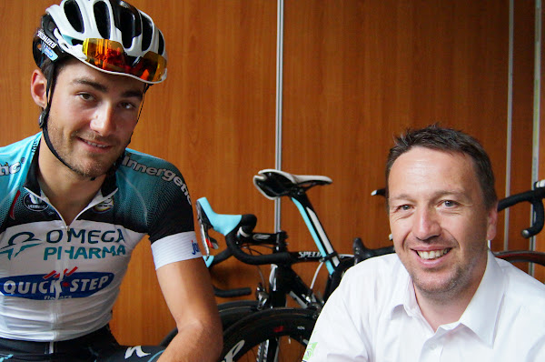 Guillaume Van Keirsbulck en Bjorn Leenknegt