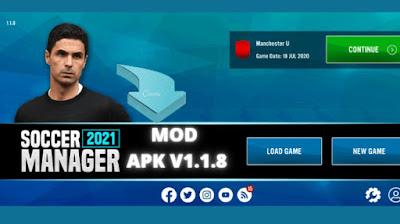 Soccer Manager 2021 Mod Apk Download v1.1.8