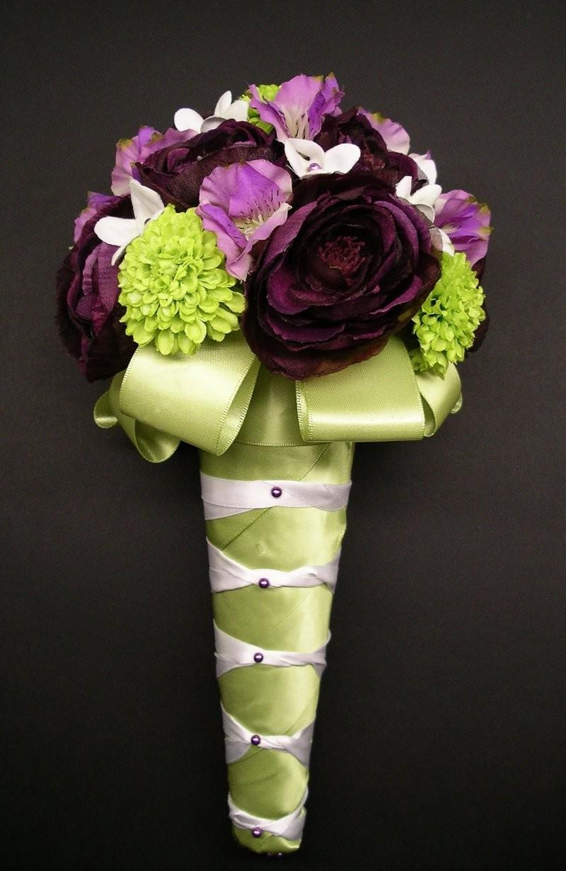 Ronenia S Blog Lime Green And Purple Wedding