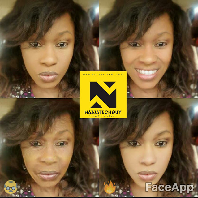 Check Out Ex President Obasanjo, Tekno, Genevieve Nnaji And Others After A FaceApp Transformation 4