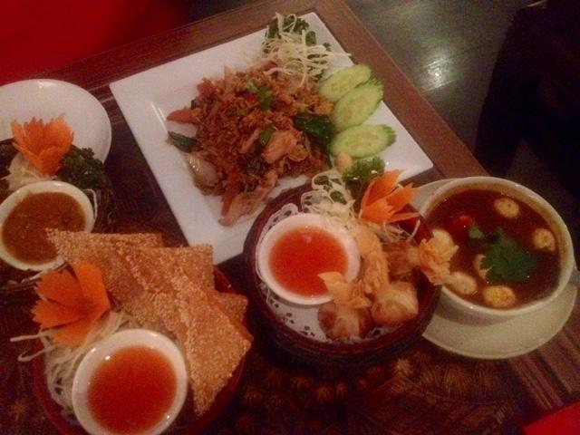 Kinkao Thai Restaurant review, Brick Lane London