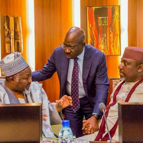 Nigerian Governors Hold National Economic Council Meeting In Abuja(PHOTOS)
