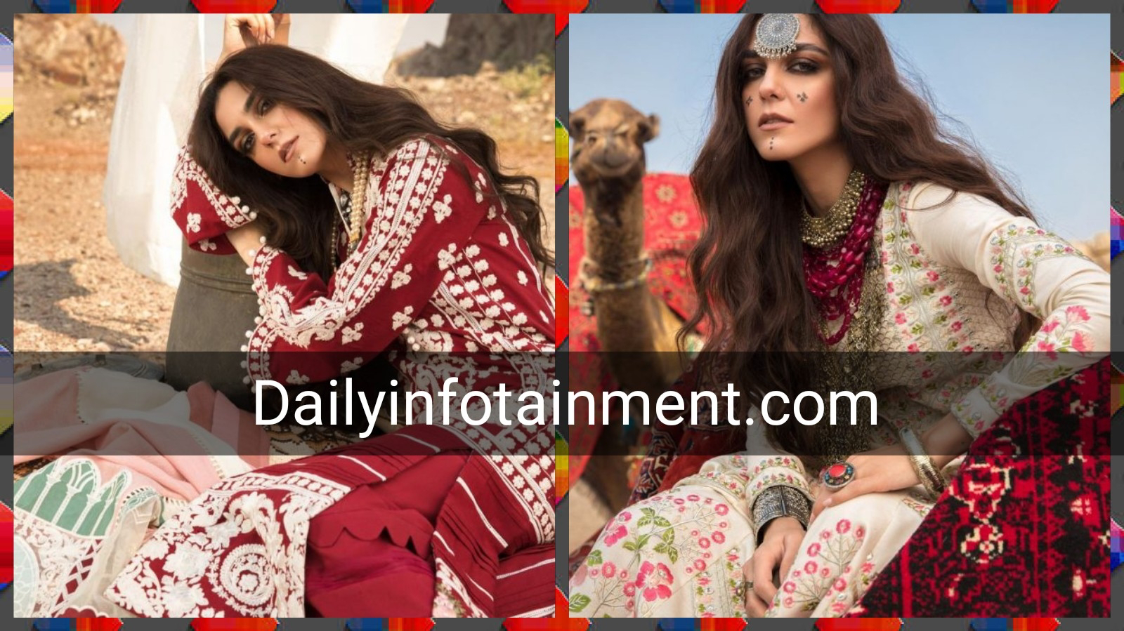 Maya Ali Mesmerising Photoshoot for Crimson Winter Collection