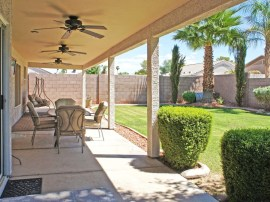 Nice Backyard in homes for sale in Surprise AZ