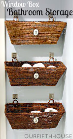 bathroom supply storage