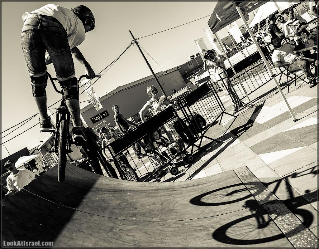 Тель Авивские велосипеды | Tel Aviv bycicles | LookAtIsrael.com - Фото путешествия по Израилю