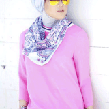beautiful hijab style to wear 2017