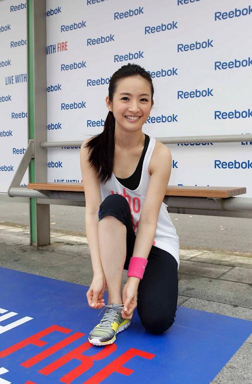 *Reebok 打造戶外腳踏車健身體驗區:林依晨挑戰4公里城市輕運動! 3
