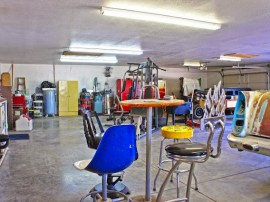 6 car garage with 1700 square feet for horse property in San Tan Valley sitting on 2 acres