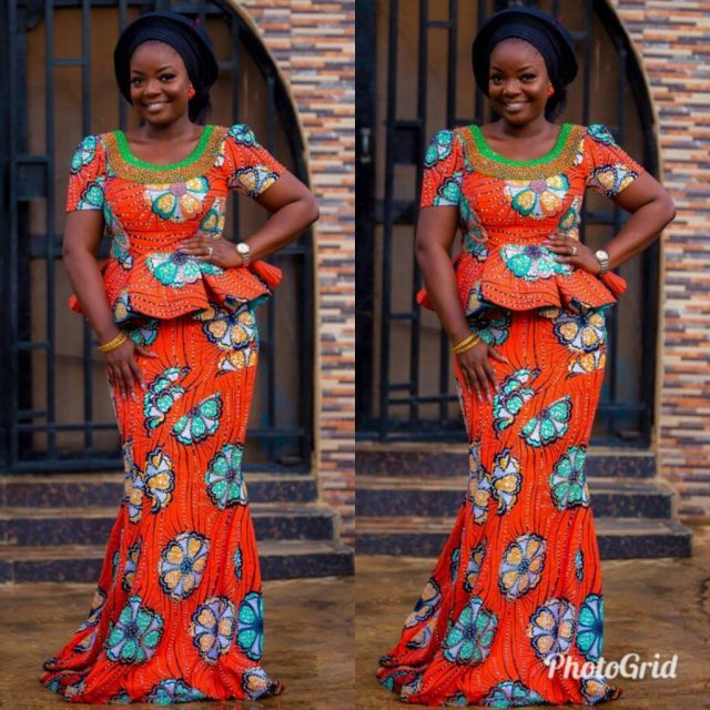 Nigerian skirt and blouse styles