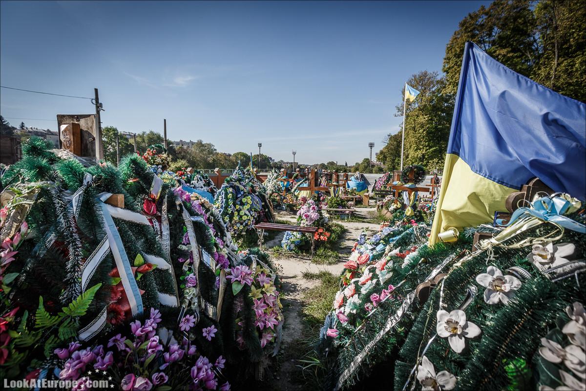 Лычаковское кладбище во Львове | Lychakovski cemetry in Lviv | Блог LookAtIsrael.com путешествует по Украине
