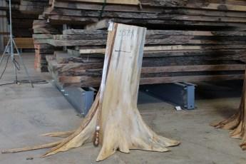"558  White Cedar Table Base -1 39"" x 10"" Wide"