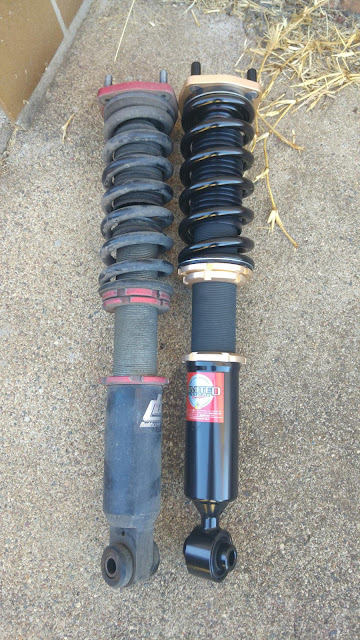 Old BuddyClub vs New Final Konnexion Coilovers