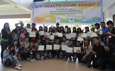 Day 3 - Campers display their Certificates