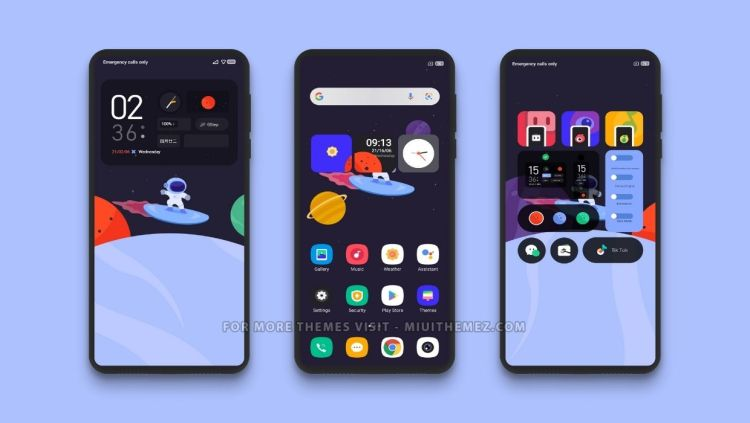 [DOWNLOAD] : Space X MIUI Theme with Cool Animated Wallpaper for Xiaomi Phones