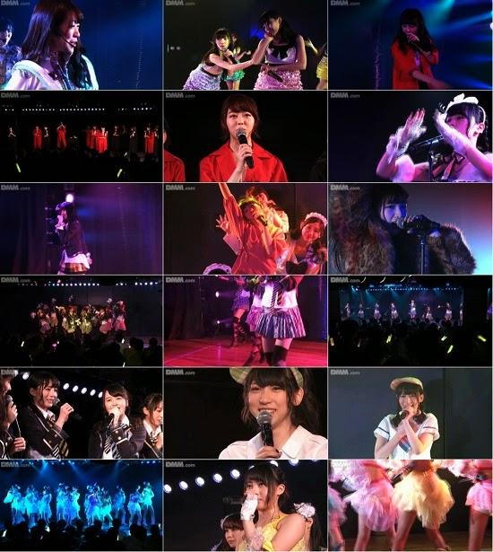 """(LIVE)(公演) AKB48 チーム4 """"アイドルの夜明け"""" 公演 141203 & 141204 & 141221"""