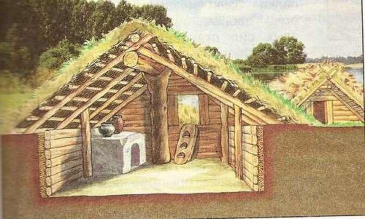 дома в древних городах