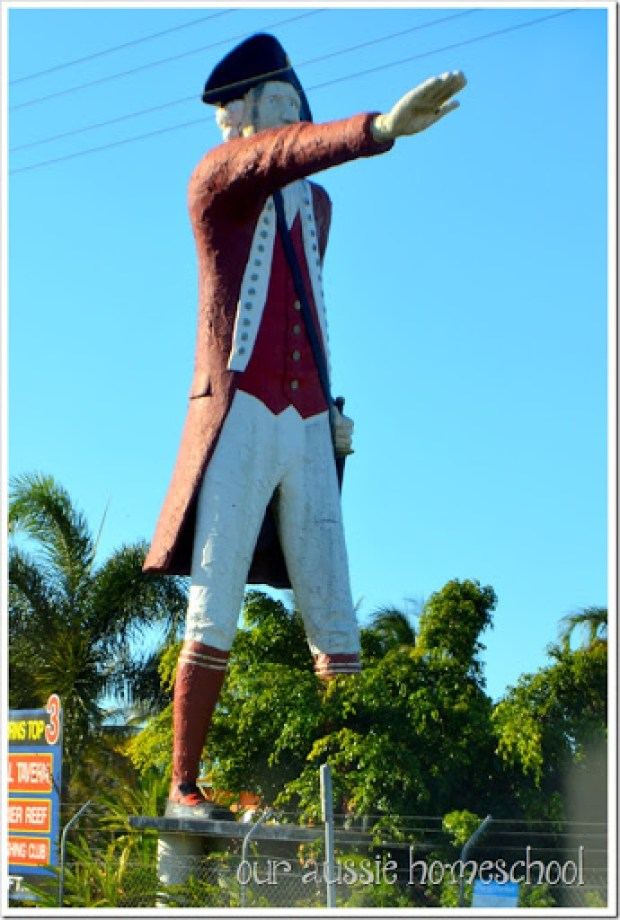 Big Captain Cook in Cairns, QLD | Our Aussie Homeschool