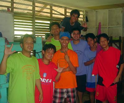 Day 3 - MCCID Boys inside the Dorm Room