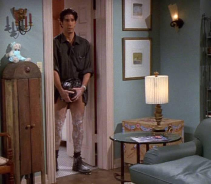 Ross, ¿qué haces?