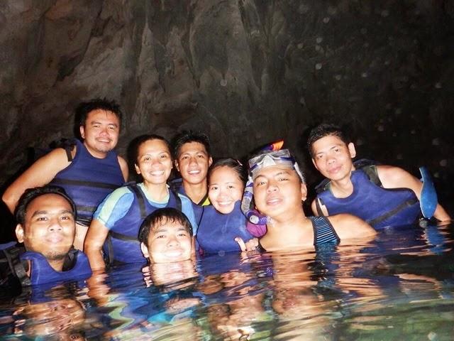 Hagukan Cave in Sohoton Cove