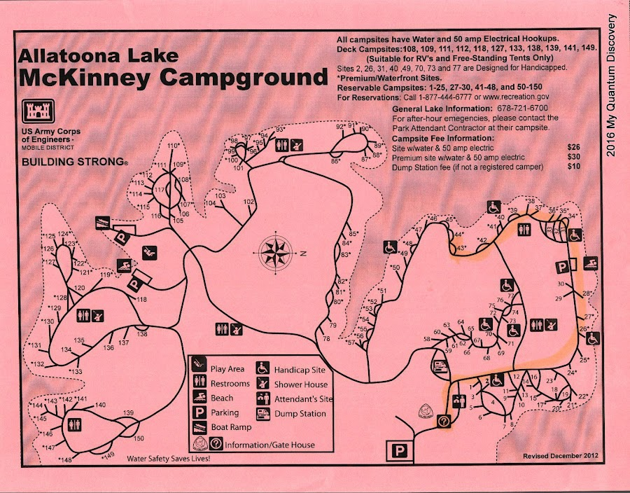 Campgrounds In Georgia Map on