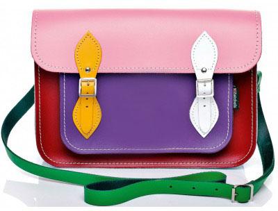 GlamYou Shop - #1 Glamorous WebShop | Kaleidoscope Leather Satchel from Zatchels