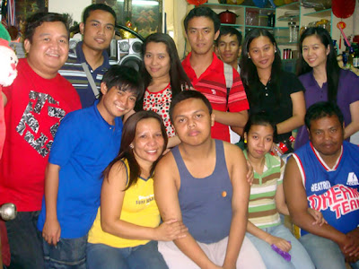 March 28: Jennyfer Cahilig with parents and Brother (Sta. Maria, Bulacan)