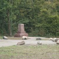 Ruelisheim, la stèle embellie