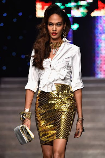 Joan Smalls Hair Color