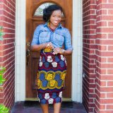 african print skirts 2017 style